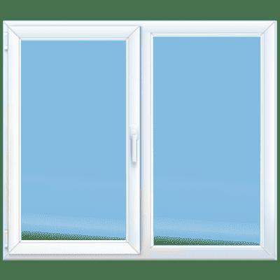 двухстворчатое окно клининг Уфа