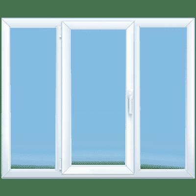 трёхстворчатое окно клининг Уфа