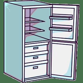 Услуга: мойка холодильника изнутри