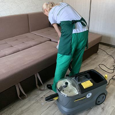 Клининговая химчистка мебели Уфа