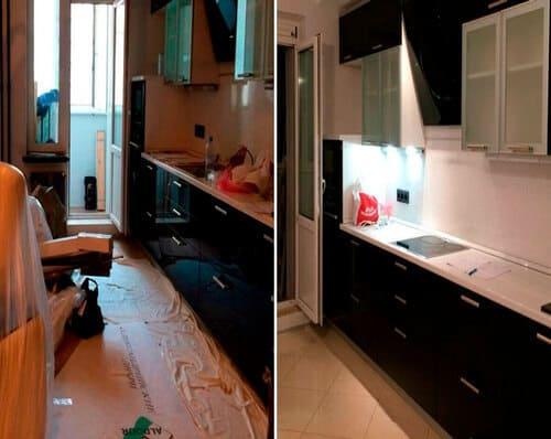 Генеральная уборка 2х комнатной квартиры с мытьем стекол