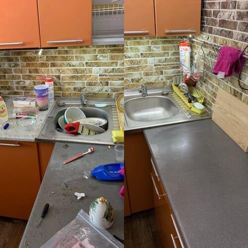 Генеральная уборка квартиры после вечеринки