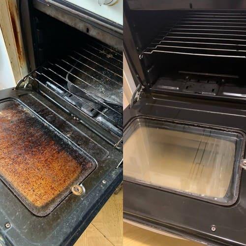 Генеральный уборка кухни с чисткой оборудования