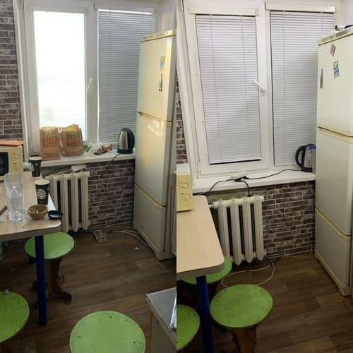 Регулярная уборка двухкомнатной квартиры с мойкой холодильника
