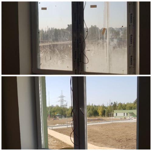 Регулярная уборка однокомнатной квартиры с мытьем окон