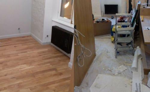 Уборка 2-комнатной квартиры после ремонта