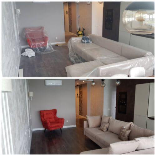 Уборка квартиры после капитального ремонта