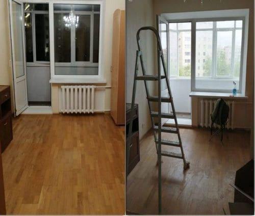 Уборка квартиры послестрой